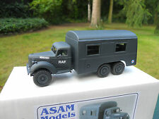 VEHICULE MILITAIRE ASAM MODELS REF HT 328 FORD SUSSEX 6X4 RAF CREW BUS MINT BOX