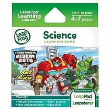BRAND NEW TRANSFORMERS RESCUE BOTS - LeapPad 2 LEAP PAD LEAPSTER GS & EXPLORER