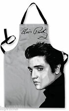 ELVIS FACE DESIGN APRON KITCHEN BBQ COOKING PAINTING GREAT GIFT IDEA