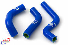 KAWASAKI KX 85 100 2014-2017 HIGH PERFORMANCE SILICONE RADIATOR HOSES BLUE