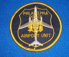 Philadelphia Police Airport Unit Patch New Old Stock