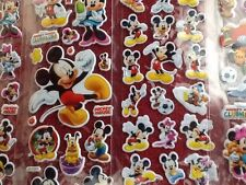 MICKEY & MINNIE MOUSE Stickers 12 Packs 6 Different 2 Of Each - PARTY BAG GIFT