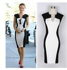 New Lady Women Celeb Party Evening Cocktail Tunic Sheath Bodycon Pencil Dress -B