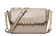 NWT $198 MICHAEL KORS Florence Leather Mini Messenger Shoulder Bag Purse!