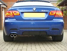 BMW E92 E93 M Performance diffuser for rear Sport bumper - Spoiler Splitter 325