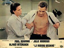 PAUL NEWMAN  ALFRED HITCHCOCK TORN CURTAIN 1966 VINTAGE LOBBY CARD #3