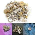 50g Watch Parts Steampunk Jewellery Altered Art Crafts Cyberpunk Cogs Gears UK