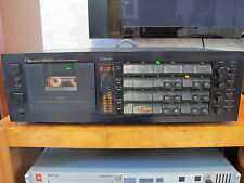 Nakamichi Dragon auto reverse cassette deck defective