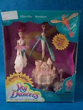 Vintage Toy - SKY DANCERS - GLITTER MISS & MERRYBEAM - Galoob 1995 Unopened Rare