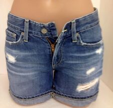 Adriano Goldschmied Blue Denim Hailey Ex Boyfriend Rolled Up Size 24