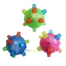 Jumping Joggle Flashing Light Up Bouncing Bumble Ball Vibrating Sound Kids Toy