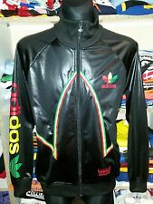 NEW ADIDAS RASTA CHILE 62 TRACKSUIT TOP SIZE L SHIRT JACKET JAMAICA (f558D)