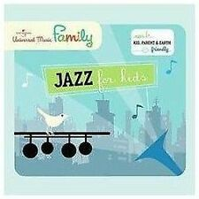 JAZZ FOR KIDS (Ella Fitzgerald, Louis Prima, & More!) CD [J118]