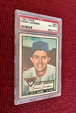 1952  TOPPS RANDY JACKSON # 322 - PSA  4 - HIGH NUMBERED - VERY WELL CENTERED
