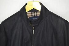 SUPPER BEAUTIFUL!!! BURBERRY LONDON MEN AGED  LEATHER BIKER JACKET EU 56 US 46