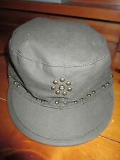 Girls, Size M, L, Limited Too, JUSTICE, Green Bling Studded Railroad Hat, Cap!