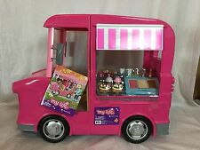 My Life Food Truck For 18 Inch Dolls Pretend Play Set Chalkboard Food Pink