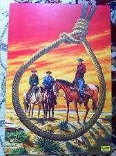 """Print Of Classics Illustrated Comics Cover Art Of """"The Ox-Bow Incident"""""""