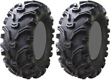 Pair 2 Kenda Bearclaw 25x10-12 ATV Tire Set 25x10x12 K299 25-10-12