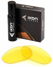 Polarized IKON Replacement Lenses For Oakley Monster Dog Sunglasses HD Yellow