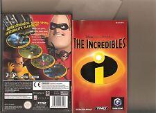 Disneys los increíbles Nintendo Gamecube / Wii Pixar