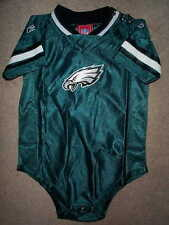 REEBOK Philadelphia Eagles nfl BABY INFANT NEWBORN CREEPER Jersey 24M 24 Months