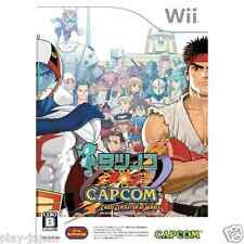 Used Nintendo Wii Tatsunoko vs Capcom Cross Generation