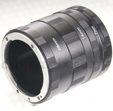 Macro Extension Tube Ring Set for Fuji X Fujifilm mount Pro1 M1 E1 T1 E2 A1 A2