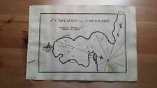 "1817 Allezard: Portolano ""Port Chevalier en Caramanie"" (Turchia Turkey Turquia)"