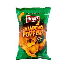 Herr's Jalapeno Popper Cheese Curls - 8.5 Oz. (4 Bags)