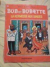 Bob et Bobette - N°77 a80 - LA KERMESSE AUX SINGES - W. Vandersteen BD