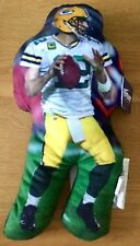 "Aaron Rodgers Green Bay Packers NFL 15"" figura Almohada"