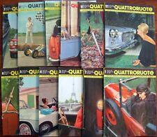 Quattroruote  Annata 1961  completa - 12 fascicoli in ottime condizioni