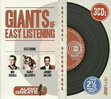 Giants Of Easy Listening (3 x CD 2016) Harry Belafonte Neil Sedaka Johnny Mathis