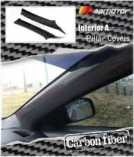 Carbon Fiber Interior Front A Pillar Covers for Mitsubishi Evolution X EVO 10