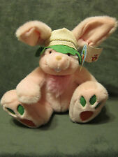 "NWT Mouse in the House Toys Bunny Rabbit 11"" Soft Plush Toy Animal Carrot Feet"