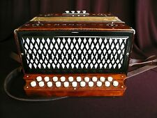 hohner steel reeds button accordion 2 Row