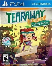 NEW PS 4 video game: Tearaway Unfolded crafted edition (PlayStation 4)