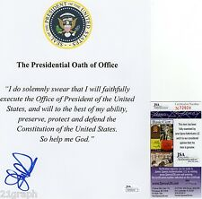 "John Kasich In-Person Signed ""Presidential Oath of Office"" w/ JSA COA #N72924"