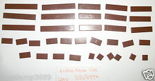 LEGO Reddish Brown Tiles 1x6 1x4 1x2 1x1 4SET 10243 10211 10232 10182 4842 75020