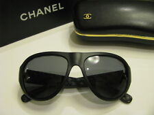 AVIATOR  COLLECTION CHANEL 6050 1479/Z7 POLARISED SUNGLASSES MAT BLACK