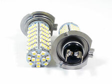 2pcs H7 3528 102 SMD LED Car Auto Head Light Pure White Bulb Lamp 6000k DC 12V