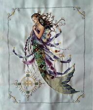 "2016 New Completed finished cross stitch needlepoint""MERMAID""home decor gifts"