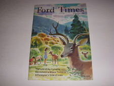 FORD TIMES Magazine, September, 1968, LURE OF THE CATSKILLS, FORD TORINO, IOWA!