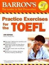 Barron's Practice Exercises for the TOEFL 6th