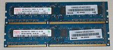 hynix 8GB (2X4GB) PC3 10600 DDR3 1333 NON-ECC DESKTOP MEMORY