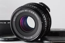 NEAR MINT Pentax SMC P 67 90mm F2.8 for 6X7 67 II with Lens Hood from JAPAN 742