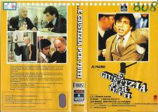 ...E GIUSTIZIA PER TUTTI (1979) vhs ex noleggio