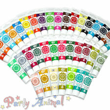 Rainbow Dust PRO-GEL Edible FULL SET of 37 Food Colour 25g-Sugarcraft Cake Decor