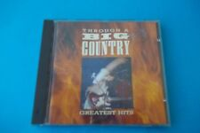 """THROUGH A BIG COUNTRY """" GREATEST HITS """" CD PHONOGRAM 1990 NUOVO"""